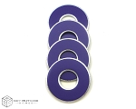 Purple VVashers™ - Set of 4